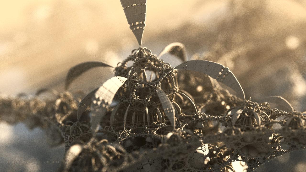 3d fractal. amazingbox bulb