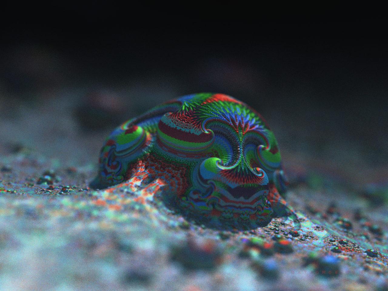 3d fractal. amazingsurf. mandelbulber