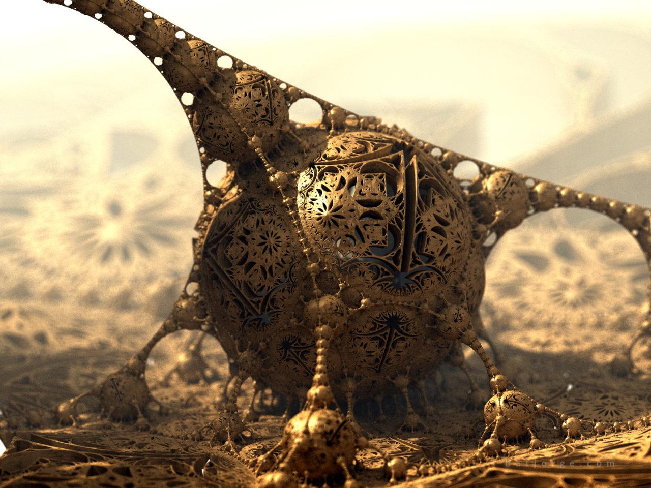 3d fractal. mandelbulb3d. amazing box aboxkali