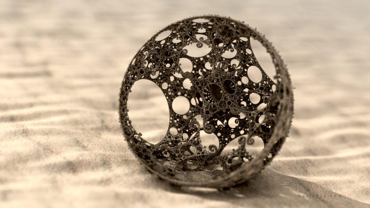 3d fractal. mandelbulb3d. kleinian desert