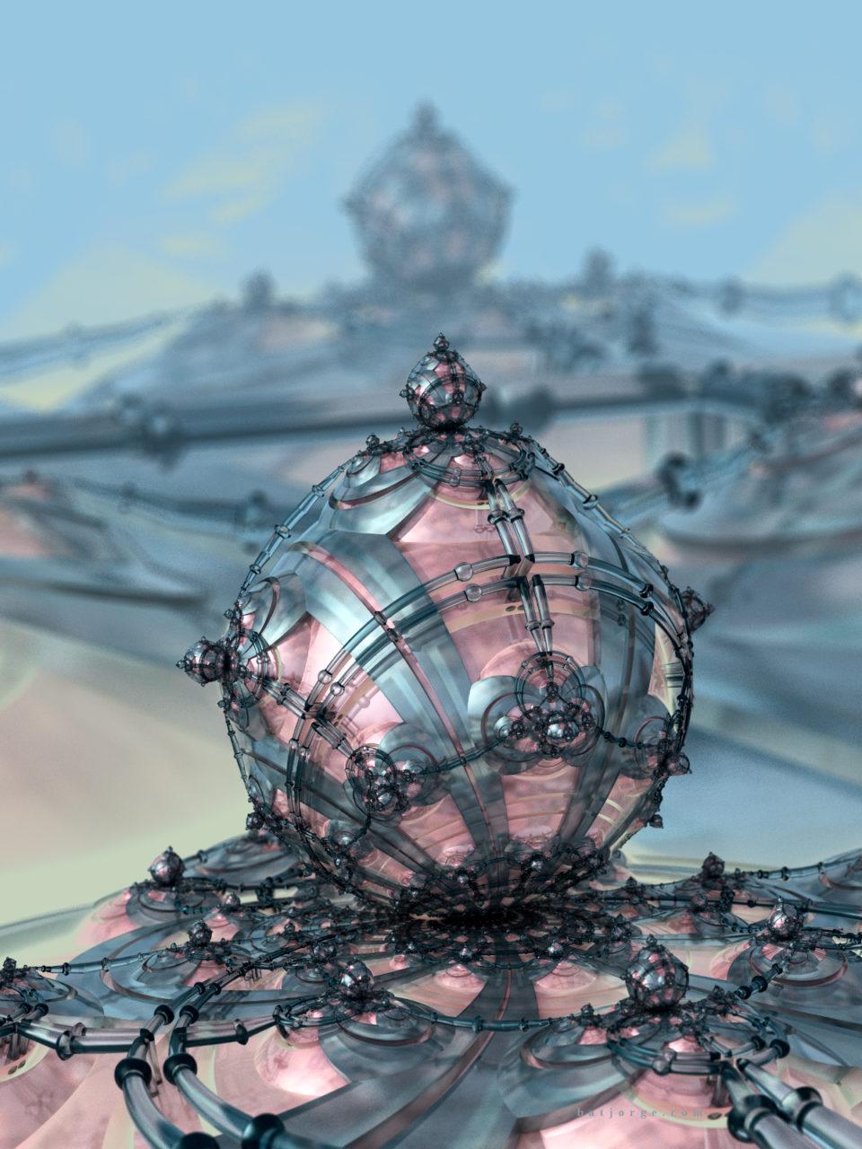 3d fractal. mandelbulb3d. dIFS. modern