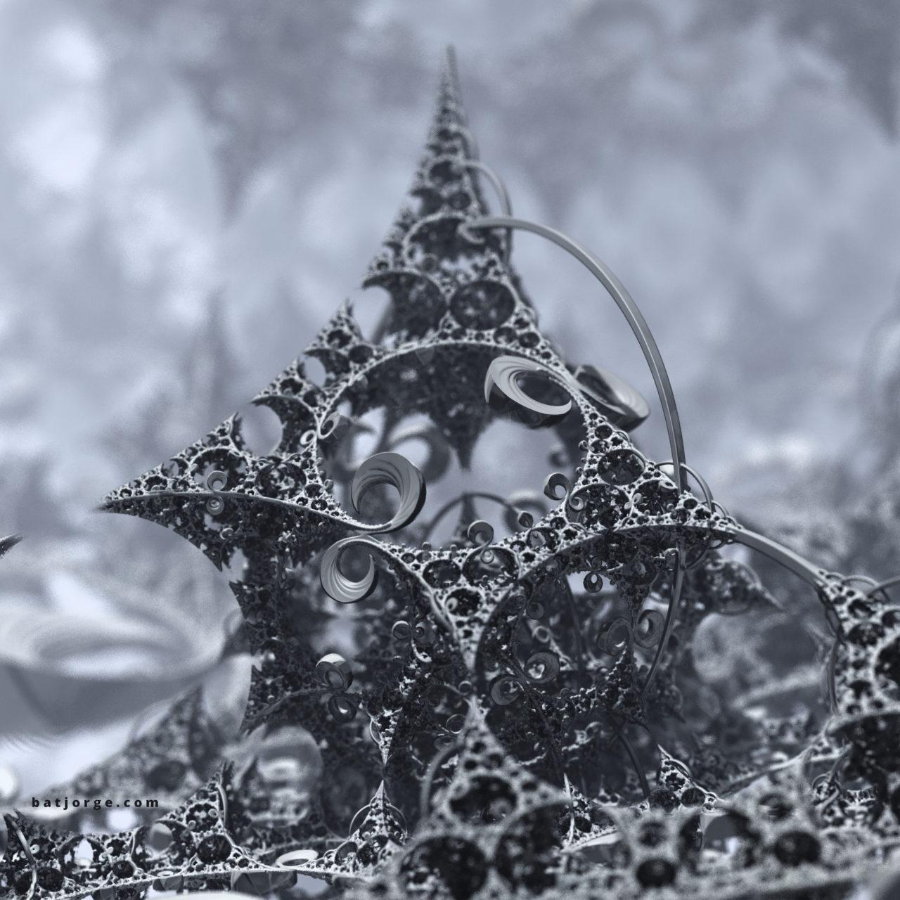 3d fractal. kleinian. mandelbulber difs