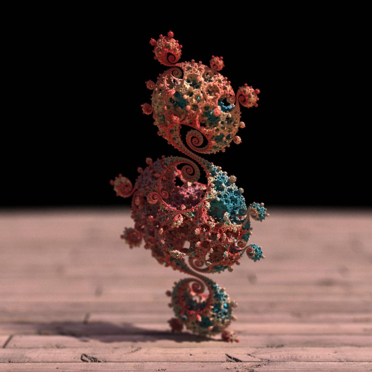 3d fractal. kleinian. mandelbulber