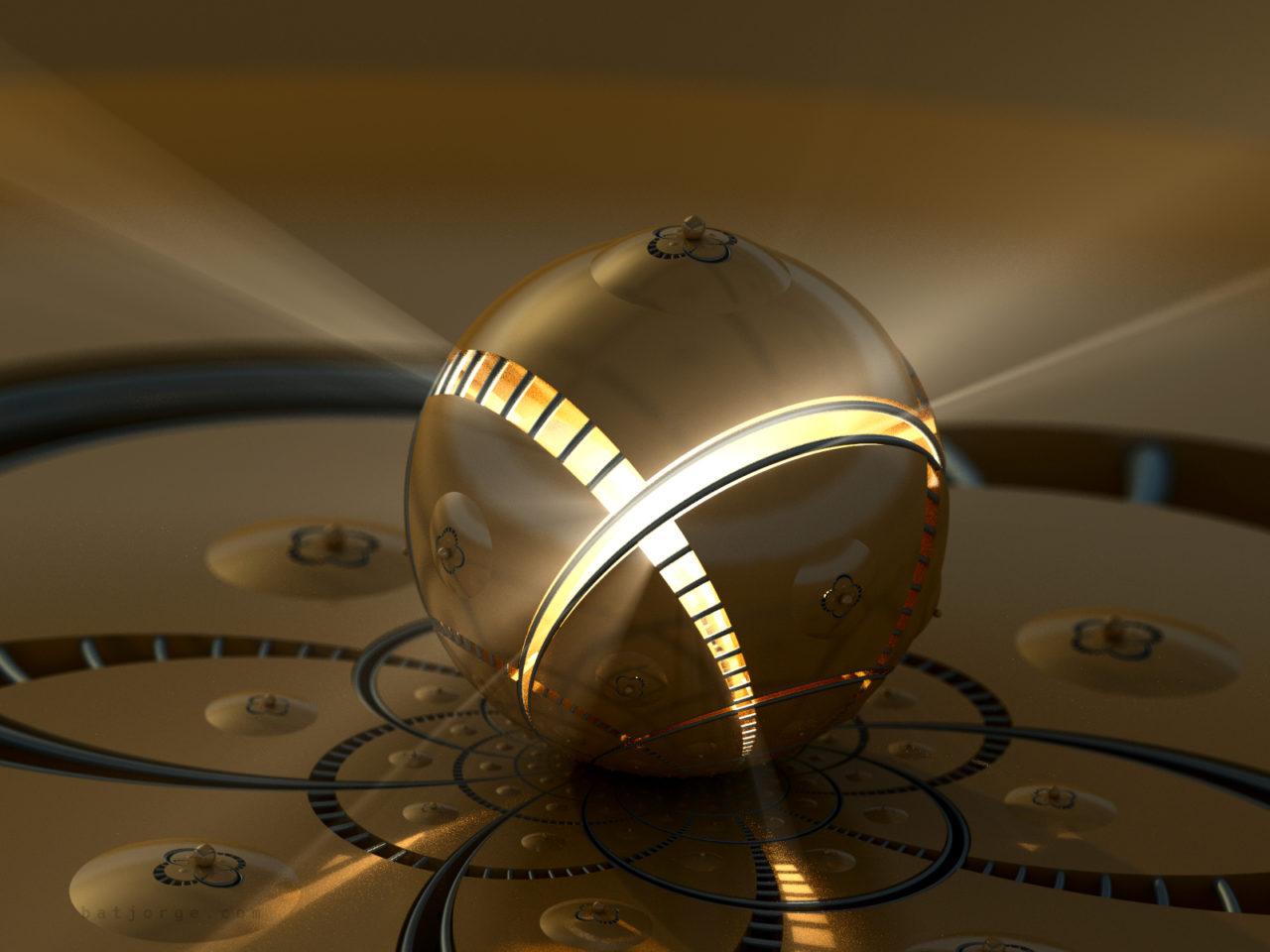 3d fractal. mandelbulb3d. dIFS. modern metallic volumetric lights