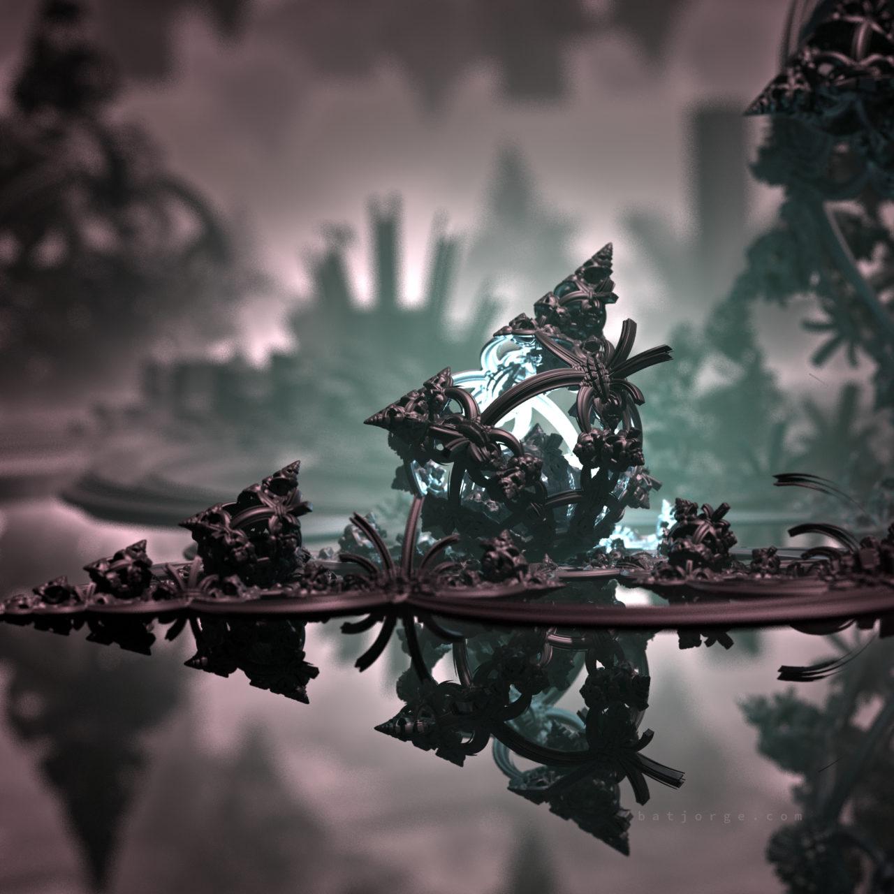 Mandelbulber fractal Mandalay-Mandelbox