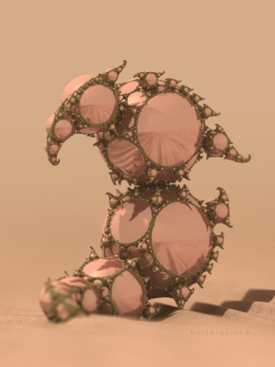 3d fractal. mandelbulb3d. kleinian