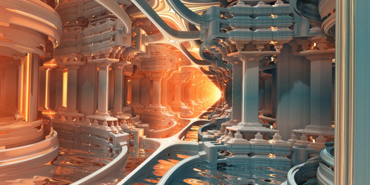 Mandelbulber fractal Mandalay Box water