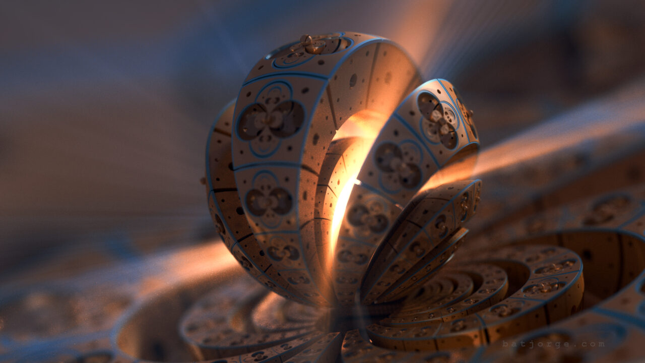 mandelbulb3D. difs volumetric light. orb
