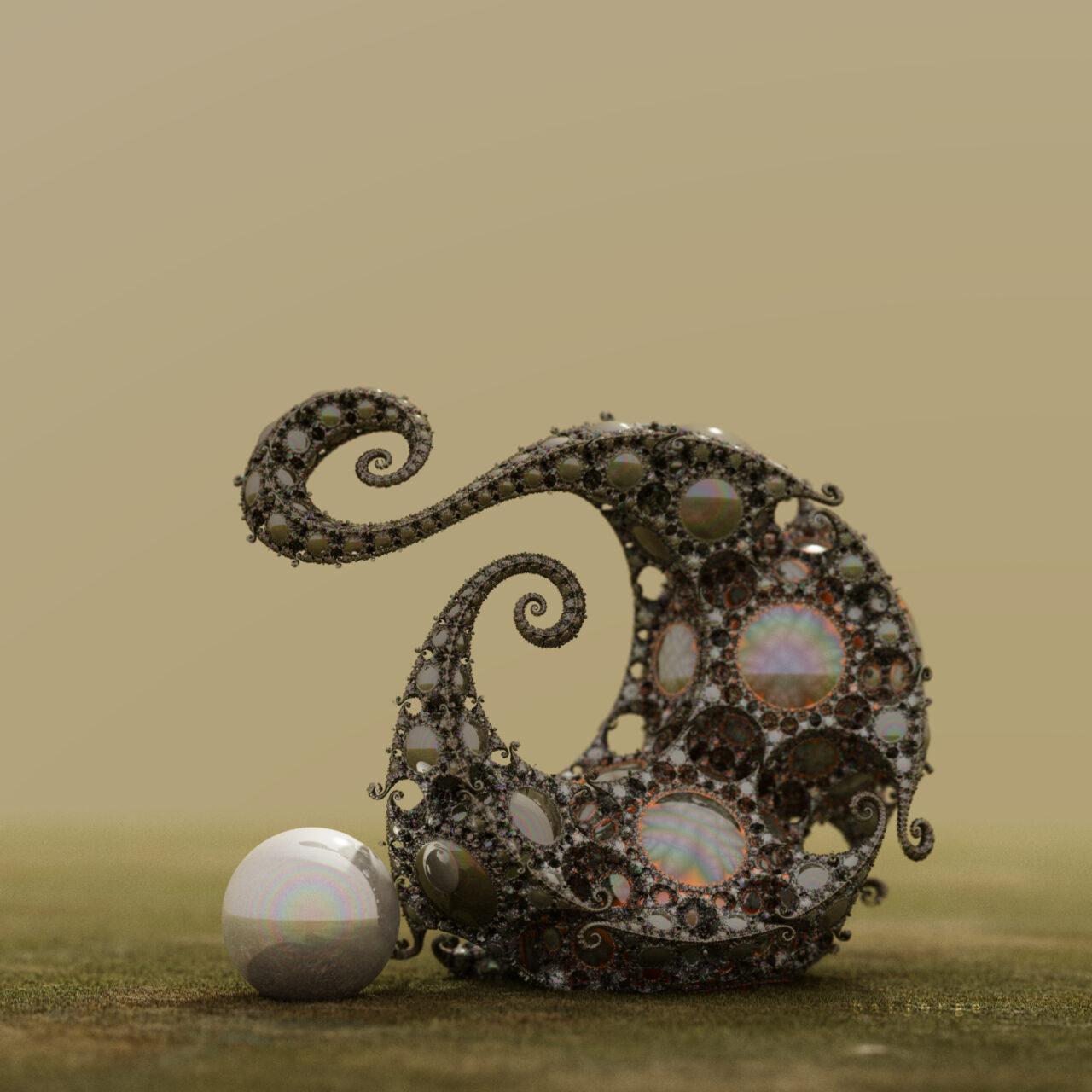 mandelbulber JosLeys-Kleinian V2 sphere